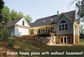 ranch floor plans with walkout basement walkout basement on side of house search basement