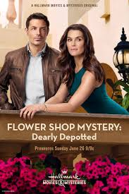 flower shop mystery dearly depotted extra large movie poster