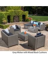 on sale now 15 off puerta outdoor 6 piece wicker v shaped