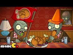 thanksgiving pinata plants vs zombies 2 thanksgiving special event food fight pinata