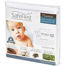 Vinyl Crib Mattress Saferest Premium Hypoallergenic Waterproof Certified