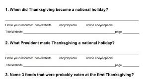 thanksgiving worksheets 4th grade thanksgiving blessings