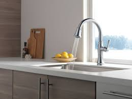 delta kitchen faucet faucet com 9197 pn dst in polished nickel by delta