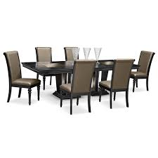 wood dining room set value city furniture dining room sets lightandwiregallery com