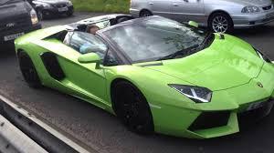neon green lamborghini aventador lamborghini aventador lp700 4 roadster in lime green