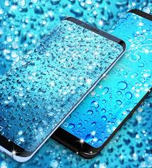 blue drops wallpapers water drops live wallpaper android apps on google play