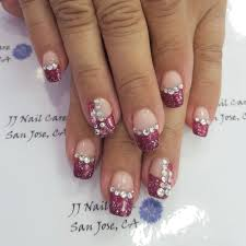 natural nails with acrylic over birthday nails by linh yelp