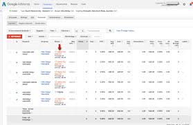 keyword bid create a adwords caign jezweb