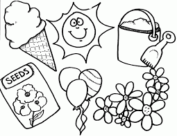 spring coloring pages adults kids coloring