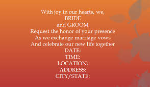 wedding quotes second marriage 15 sles for casual invitation wording for wedding everafterguide