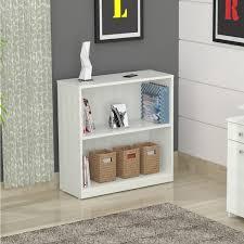 Small Two Shelf Bookcase Two Shelf Bookcase White Thesecretconsul Com