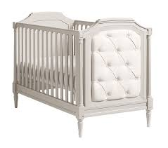 Vintage White Baby Crib by Blythe Convertible Crib Pottery Barn Kids