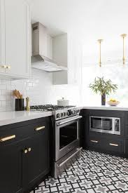 ikea black brown kitchen cabinets two tone ikea kitchen cabinets design ideas