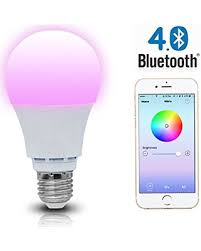light bulbs controlled by iphone shyu shyu bluetooth smart led light bulb smartphone controlled