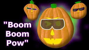 boom boom pow singing pumpkins halloween light show 2011
