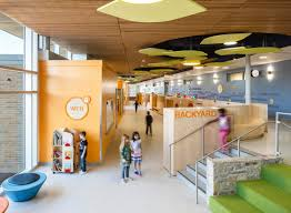 Sustainable Design Interior Discovery Elementary Vmdo Architects