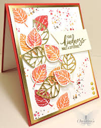 make thanksgiving cards thank you card using stampin u0027 up u0027s thoughtful branches stamp set