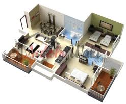 3d house plan house plans
