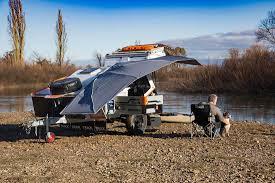 offroad travel trailers tvan camper trailer the original off road camper trailer hybrid