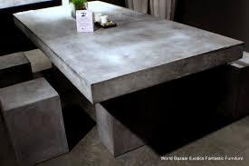 diy concrete dining table interesting design concrete dining room table 94 l dining table