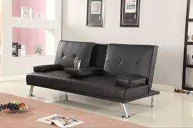 Leather Sofa Bed Ikea Sofa Inspiring Leather Sofa Bed Design Black Couch Bed 2 Seater