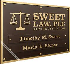 durabronze plaques signs attorney plaques lawyer