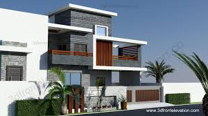 3d front elevation com 10 marla contemporary house design 2016
