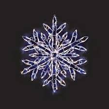 novelty lights inc led sf 242 led rope light snowflake