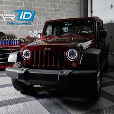 jeep headlights at night lumen jeep wrangler 2007 2017 7