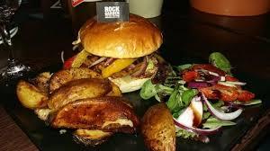Rock Garden Cafe Torquay Delicious Vegan Burger Picture Of Rock Garden Cafe Bar Torquay
