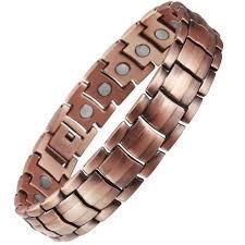 copper bracelet images Viterou mens magnetic pure copper bracelet with magnets for jpg