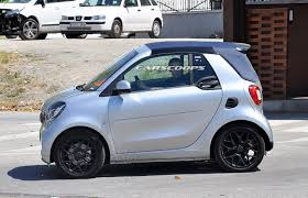 new smart fortwo cabriolet spied completely undisguised