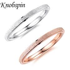 simple wedding band fashion simple wedding band gold silver color rings for women