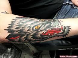 Forearm Wolf - koeplinger wolf forearm on sleeve viewer com