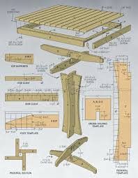Outdoor Furniture Plans by Outdoor High Top Table Plans U2022 Woodarchivist