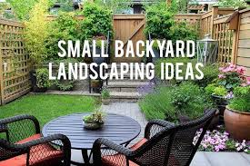 Landscaping Ideas For Small Backyard Small Backyard Landscaping Ideas Wowruler