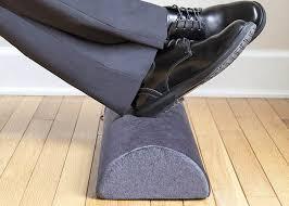 foot elevation under desk office half foam cylinder cushion non slip comfort foot elevation