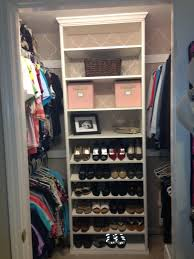 u shape white wooden shoe closet oragnizer as bookshelf as well