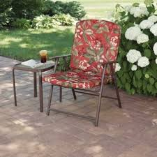 Mainstays Searcy Lane 6 Piece Padded Folding Patio Dining Set - best folding lawn chairs walmart design ideas chyna us chyna us