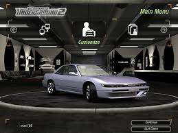 custom nissan 240sx s13 need for speed underground 2 nissan silvia s13 k u0027s nfscars