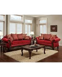 Red Sofa Sets by Check Out These Bargains On Furniture Of America Cardinal Formal 2