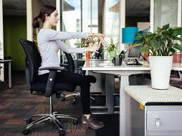 Your Desk 11 Yoga Poses You Can Do At Your Desk Work Money