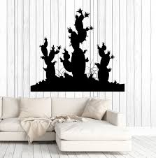 vinyl wall decal cactus desert plant room decoration stickers vinyl wall decal cactus desert plant room decoration stickers murals ig4713