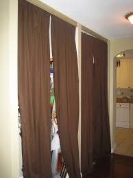 Closet Curtain Awesome Curtain Closet Doors U2013 Home Decoration Ideas Curtain