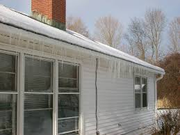 Wrap On Roof And Gutter Cable by Gutter Guards Icing Problems Roofing Contractor Talk