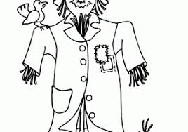 scarecrow printables coloring pages scarecrow coloring pages