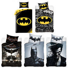 Batman Double Duvet Cover Batman Bedding Ebay