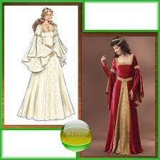 pattern kingdom ladies medieval renaissance costume patterns