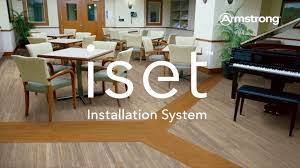 Installing Armstrong Laminate Flooring Armstrong Flooring Iset Installation System Youtube