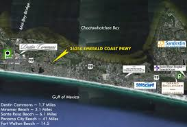 Destin Florida On Map by 36250 Emerald Coast Parkway Destin Fl 32541 Mls 782134